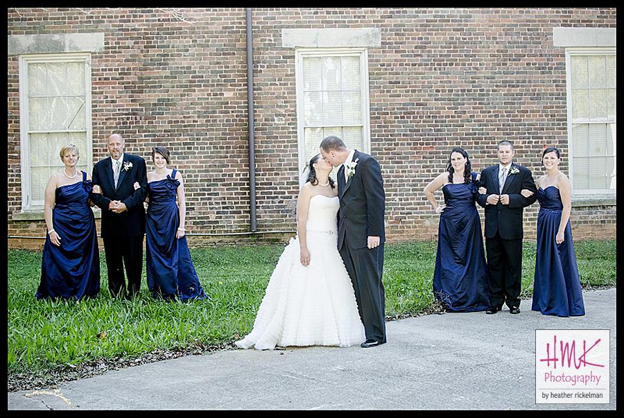 meghan matt married rock hill sc wedding photographer hmk photography
